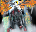 Niggi Hannibal in his Niggi wendigo form by TheNiggiNecromancer