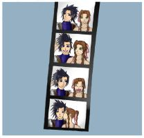 Memories of You-Zack and Aeris by 0Fallon0