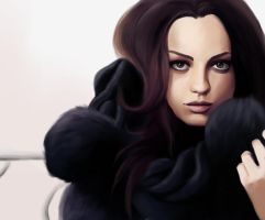 Mila Kunis by HannahWhoDraws