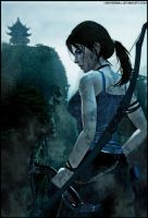 Lara Croft-A Survivor Is Born by ReD8ull