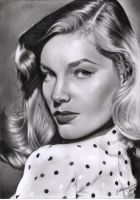 Lauren Bacall by dilhermandodidi