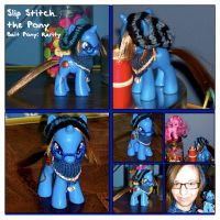 MLP: Slip Stitch Custom Pony by Neko-daewen