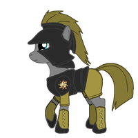 Pony armor design 4 by Alden-the-Fox