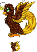 Re-draw of my subeta pet idea by Bitterlimeparakeet