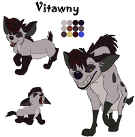 Vitawny Reference by BrainyxBat