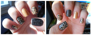 Wild Child Nails by Ebony-Rose13