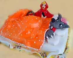 Red Riding Hood and the Wolf Cake by 6eki
