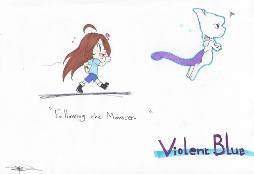 Chibi Violent Blue Sketch by Nell-tu-lover