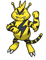 Electabuzz by Kame-Ghost