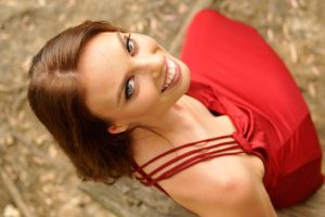 Laura - red dress below 2 by wildplaces