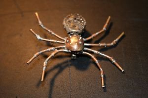 Steampunk Xmass spider by Paul-Nasca
