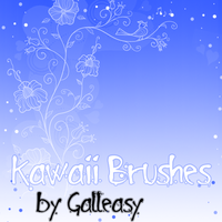 kawaii_brushes_by_galleasy by Galleasy