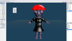 Ao Oni as Chipy WIP by McChipy