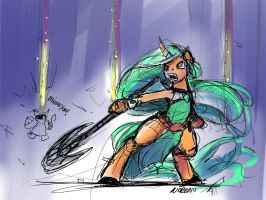 MLP League PonySoraka by Noben