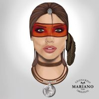 Indian Face by marianoartedesign