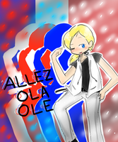 ALLEZ OLA OLE by invaderkiwi
