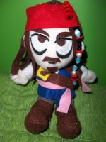 Jack sparrow plush by sevichan