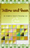 Yellow and Green Gradients by Coby17
