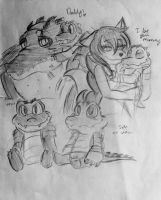TMNT: Kiba - Sketches by XxMoonlight-1-WishxX