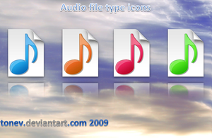 audio filetypes by tonev