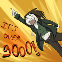 It's over 9000 pageviews !! by Ardate