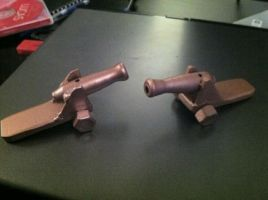 Mini Cannons by Manyeyesofchaos