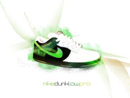 nike dunk low pro ii by chronicless
