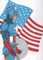Captain America by Wicked-Texan