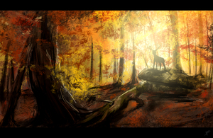 Speed Foret Automne by floed