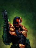 Judge Dredd by zaratus