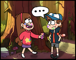 Gravity Falls by liightbub
