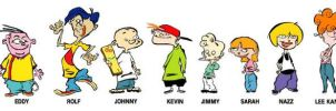 The Cast of Ed, Edd n Eddy by PrincessBeautiful