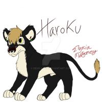 Haroku new lion oc by Devils-Tea