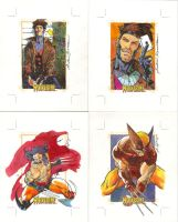 Sketch Cards X-men Origins Wol by andreibressan