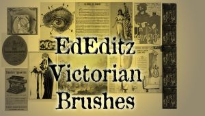 Victorian Brushes for Photoshop by NightstreetDreamer