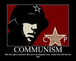 Poster - COMMUNISM by E-n-S