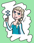 Elsa And The One Snowflake Part 2 by chelano