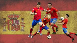 Spain Football Players by AJMcCoy612