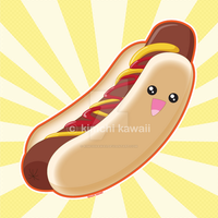 Hot Dog by kimchikawaii