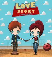 Love Story Claire X Steve by VickyxRedfield