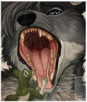 Maw Love by shorty-antics-vore