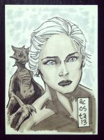 Dany from Game of Thrones by Dave-Acosta