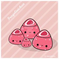 Kawaii: Fragolinichan by IdeandoGrafica
