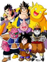 DBZ: Debu Senshi -Colored- by SentouRyoku