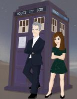 Dr Who Meets House of Mouse by newwrldgrl