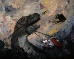 Cowboys and Dinosaurs by The-Victor