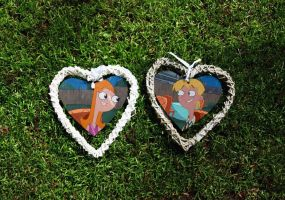 Candace and Jeremy - Heart Frames by WG2020TV