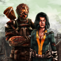 Fallout 3 - Charon and Alice by KarlaCr0me