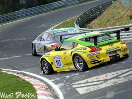 Nissan 370Z Manthey Racing by WasiDesign