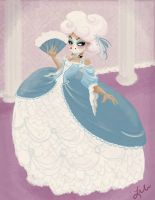 Rococo Fashion Experiment by liliribs